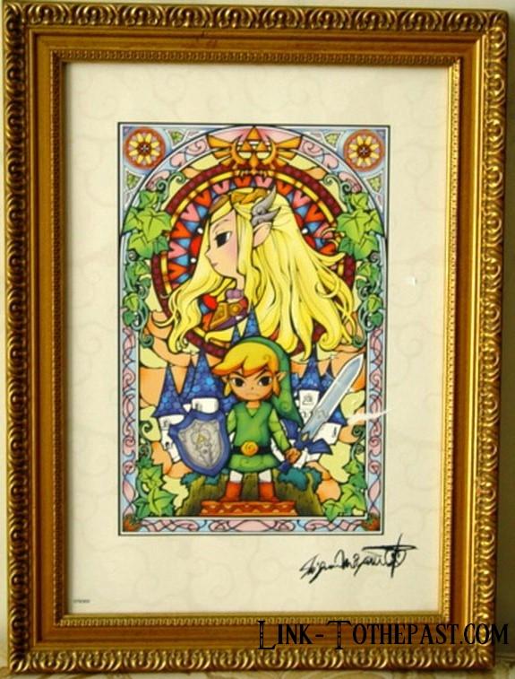 Lithographie Zelda 300 ex