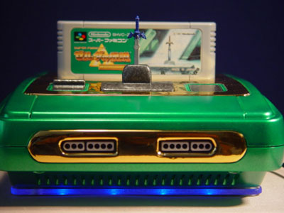 Super Nes custom Zelda A link to the past by Kotomi