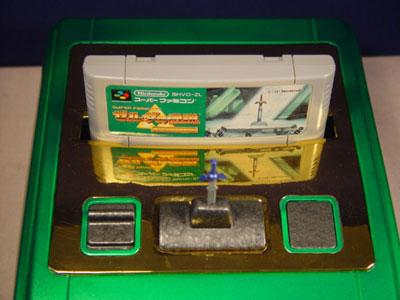 La consoles lit tous les formats de cartouches snes